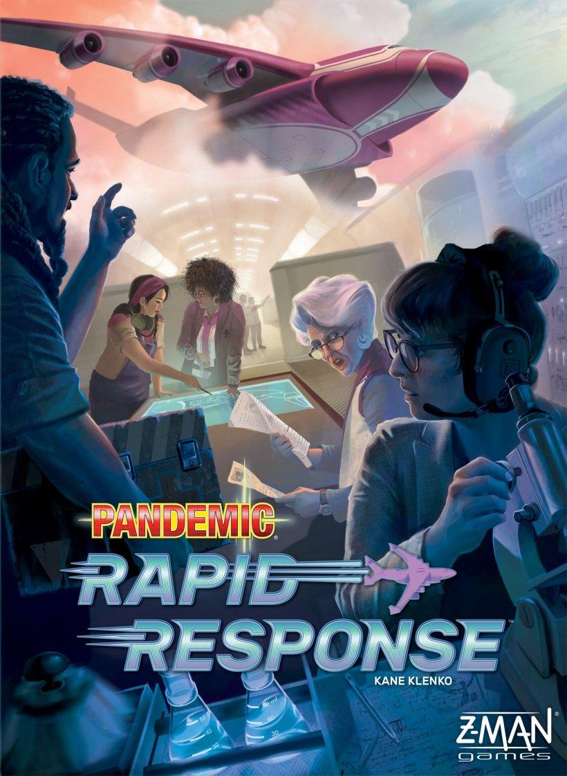 Pandemic Rapid Response: copertina