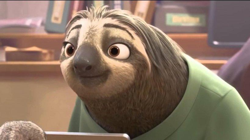 Flash, il lentissimo bradipo di Zootropolis
