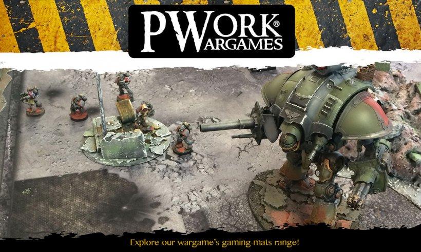 Pwork Wargames: esempio di gaming mats