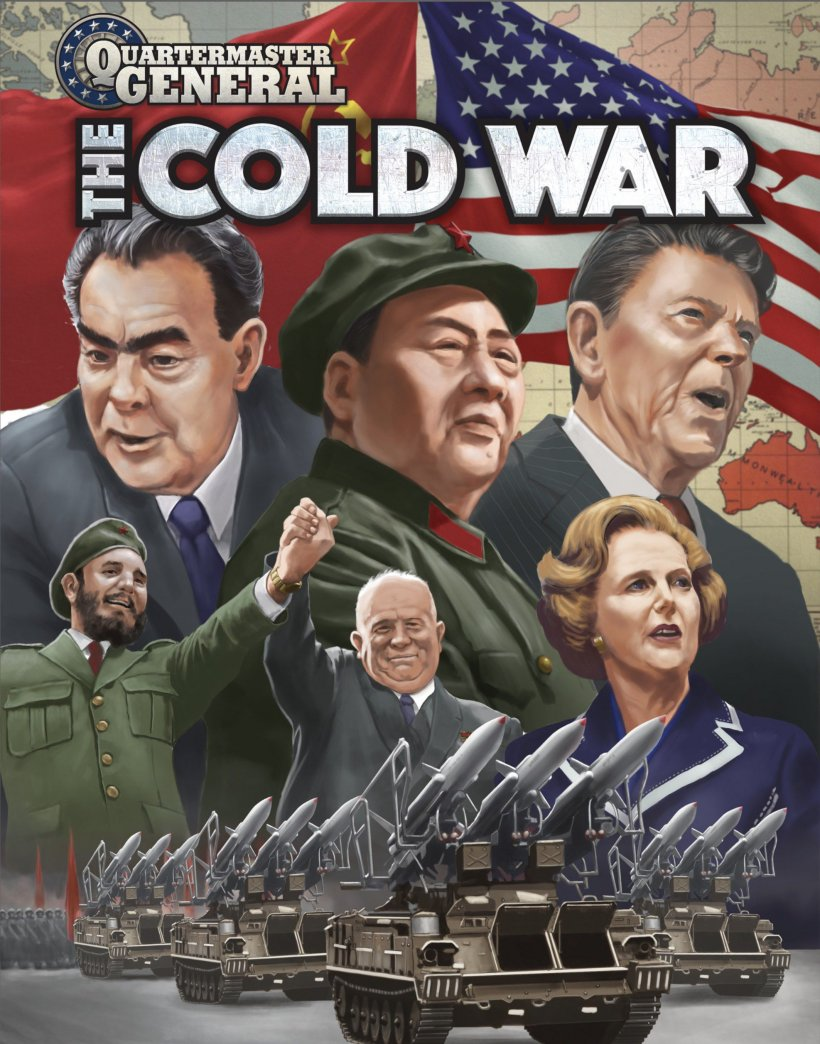 Quartermaster General: The Cold War - copertina