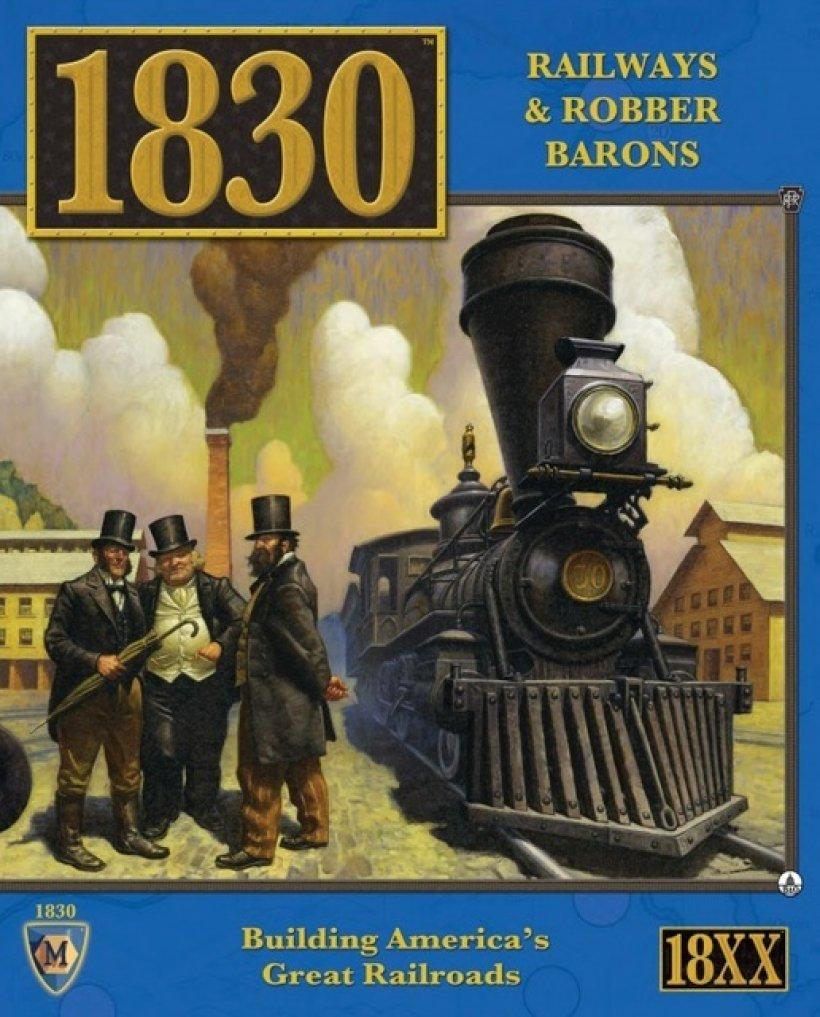 Copertina del gioco della serie 18XX: 1830
