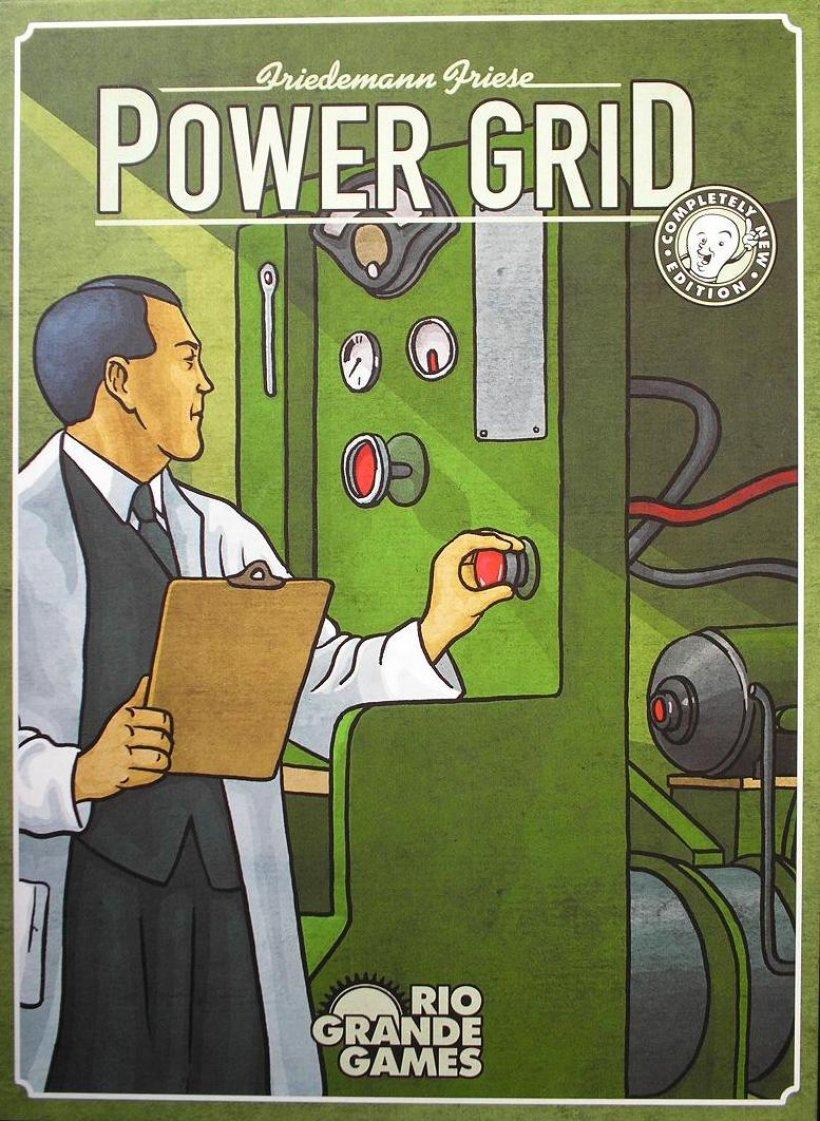 Copertina di Power Grid