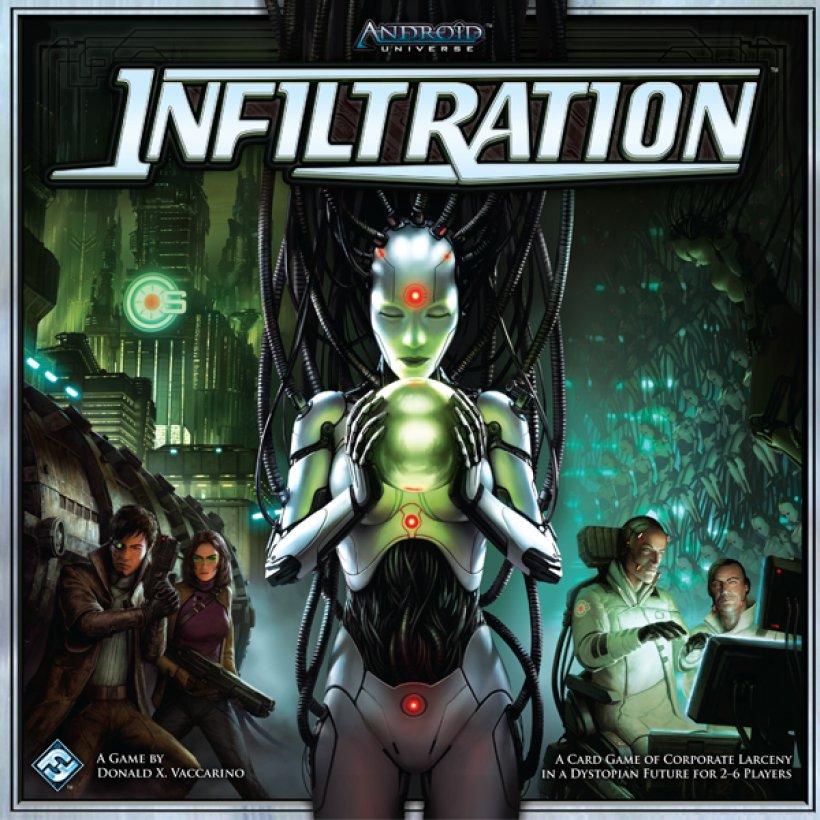 Copertina del gioco Android: Infiltration