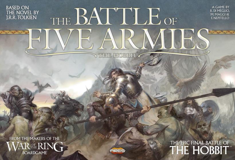 Recensione la battaglia dei cinque eserciti la tana dei - La battaglia dei cinque eserciti gioco da tavolo ...