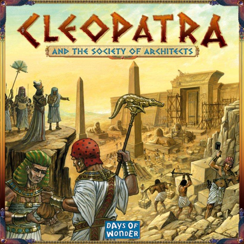 Copertina di Cleopatra e la Società degli Architetti