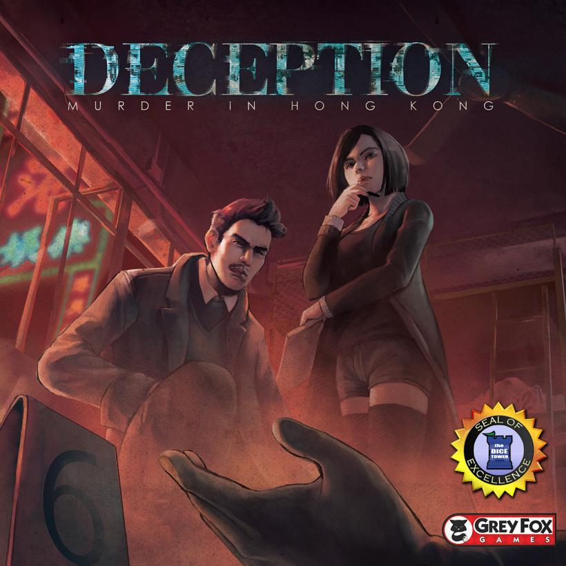 Copertina di Deception: murder in Hong Kong