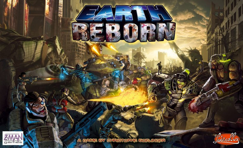 Copertina di Earth Reborn