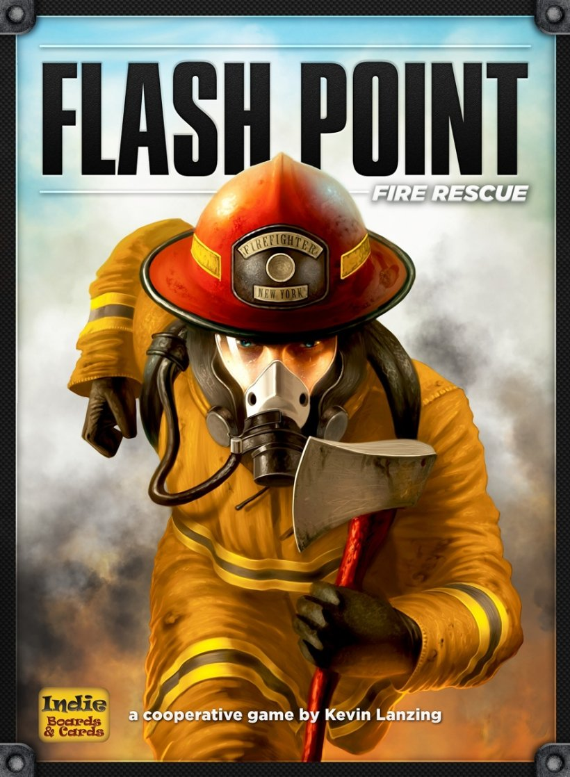 Copertina di Flash Point: fire rescue