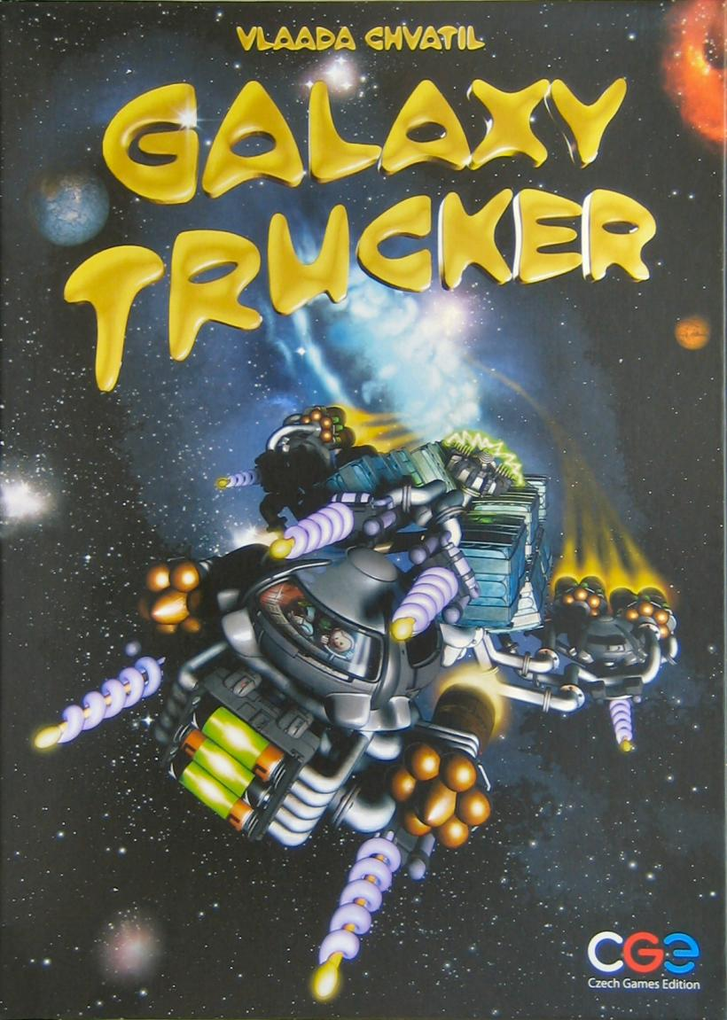 Copertina di Galaxy Trucker