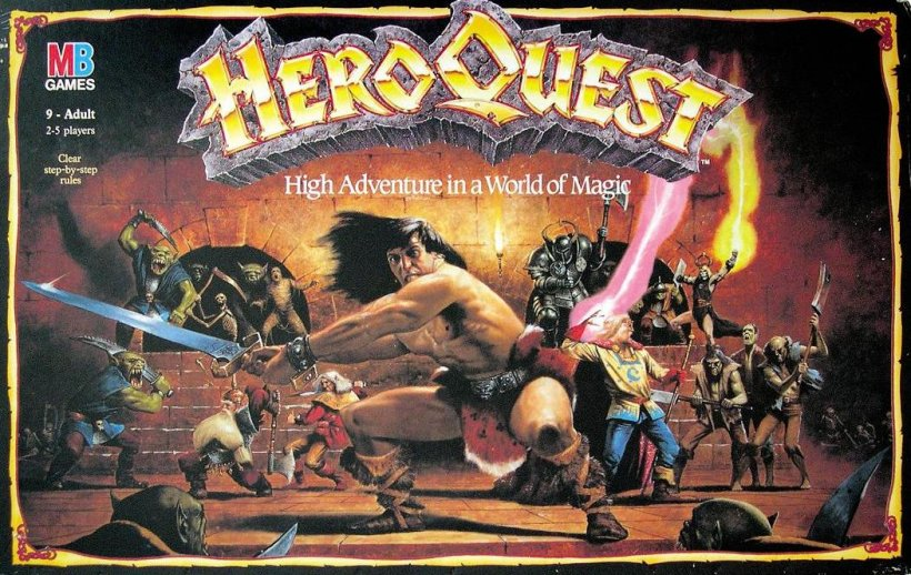 Copertina di HeroQuest