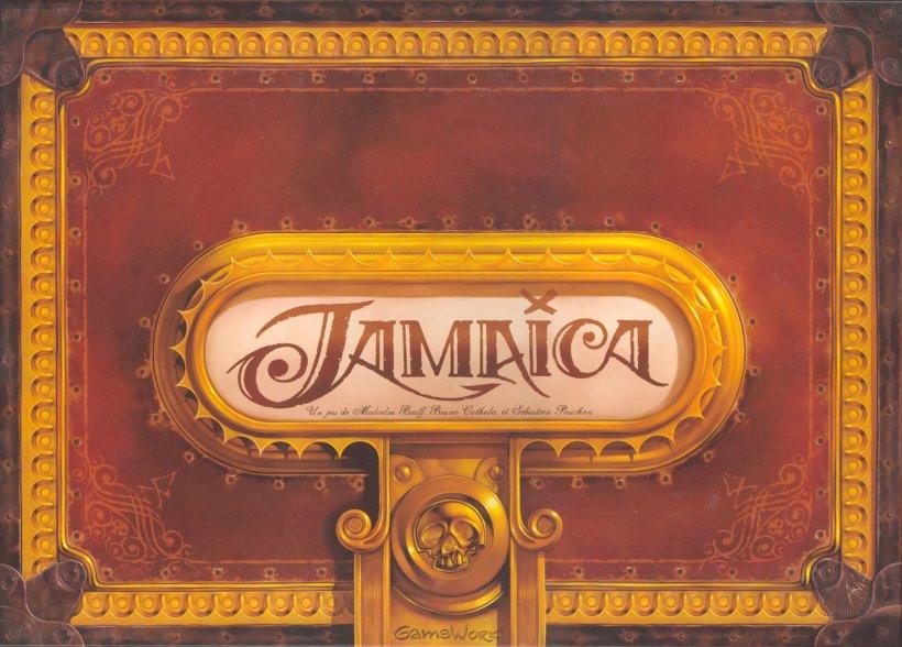 Copertina del gioco da tavolo sui pirati Jamaica