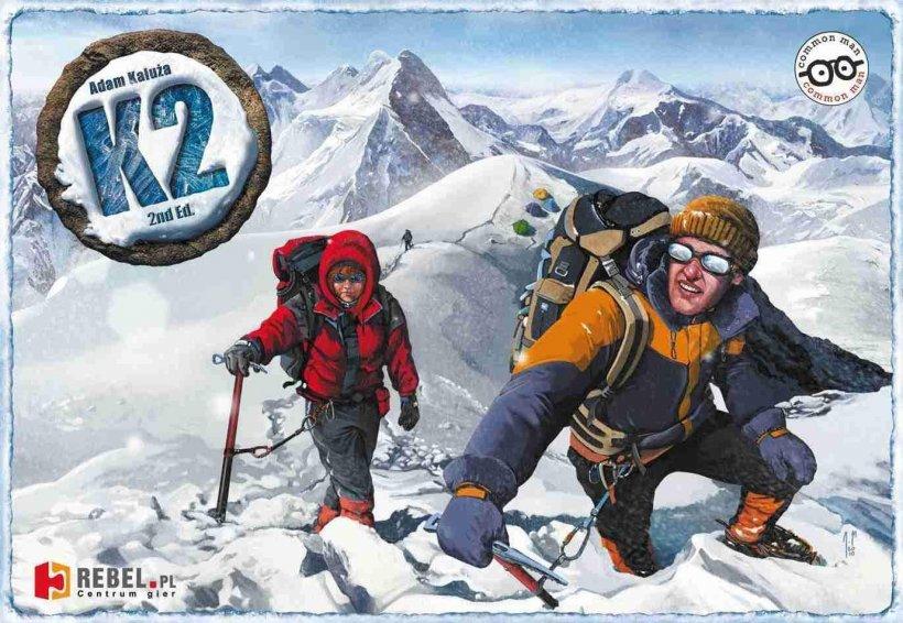 K2: copertina di un gioco tutti contro tutti