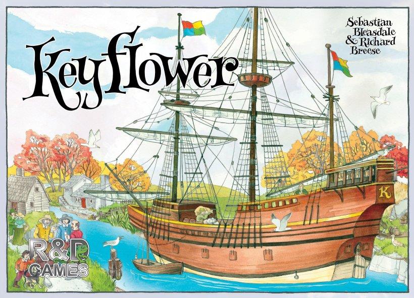 Copertina del gioco di Keyflower