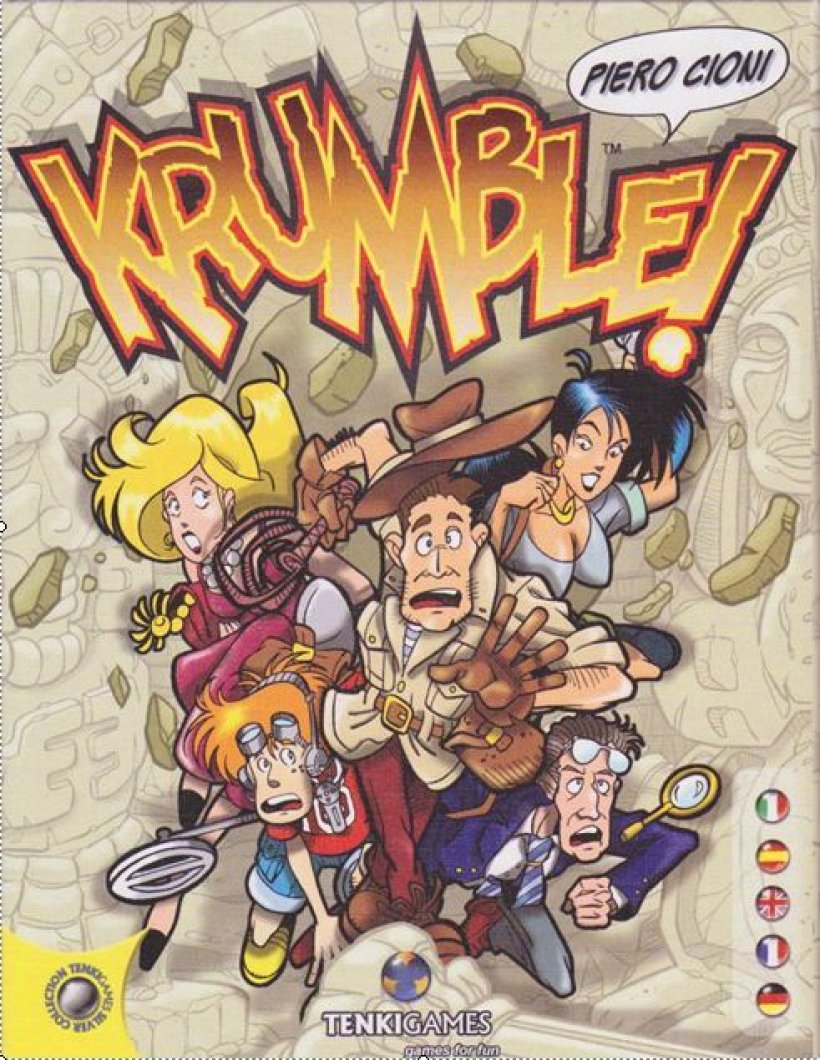 Copertina di Krumble