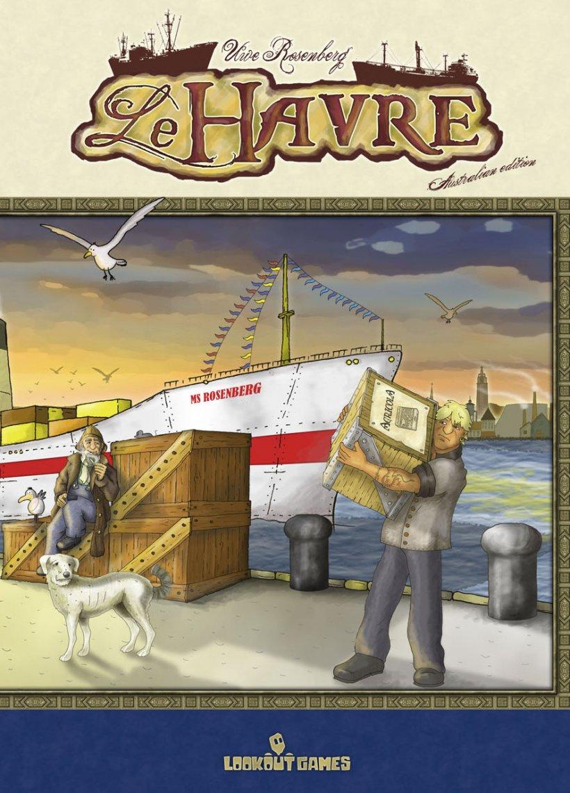 Copertina di Le Havre, un gioco di Uwe Rosenberg