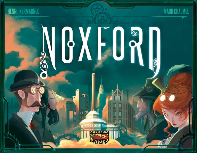 Copertina di Noxford