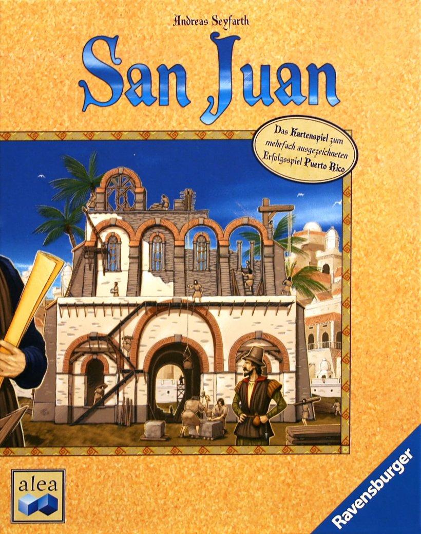 Copertina di San Juan (prima edizione)