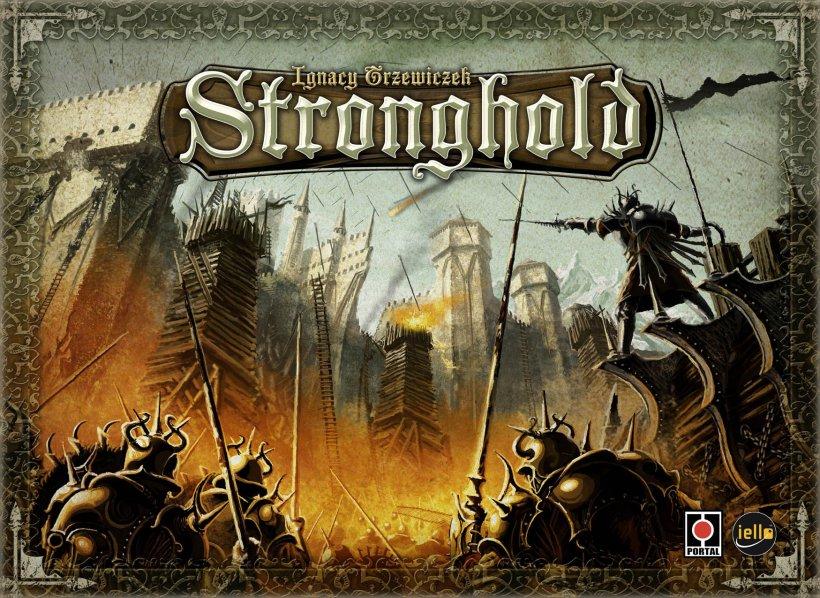 Stronghold, copertina della prima edizione