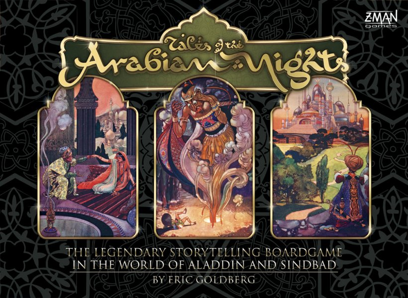 Copertina di Tales of the Arabian Nights
