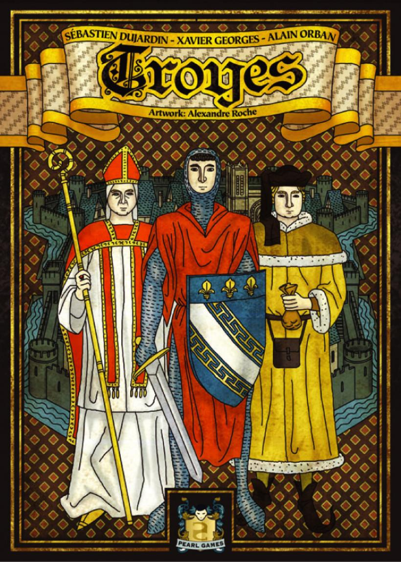 Copertina scatola di Troyes