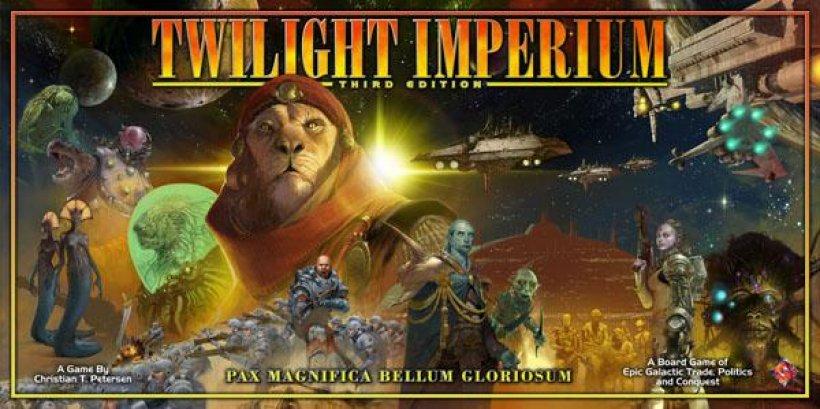 Copertina della terza edizione di Twilight Imperium