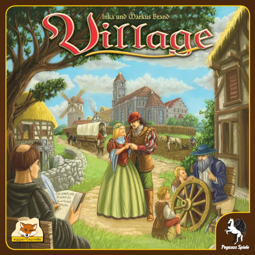 Copertina della scatola di Village