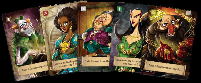 Rise to Nobility: personaggi di varie razze