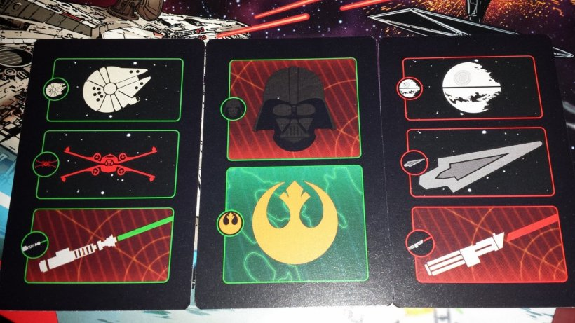 Carte di Risk: Star Wars Edition