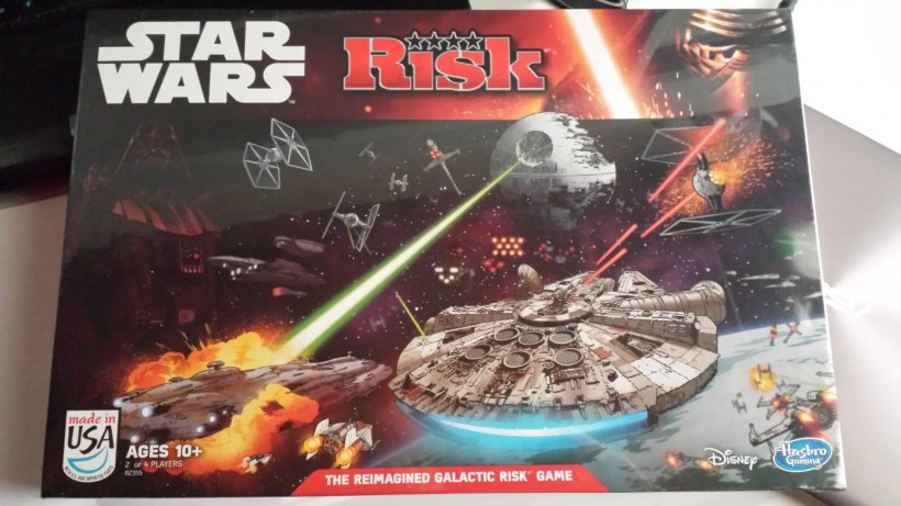 La scatola di Risk: Star Wars Edition