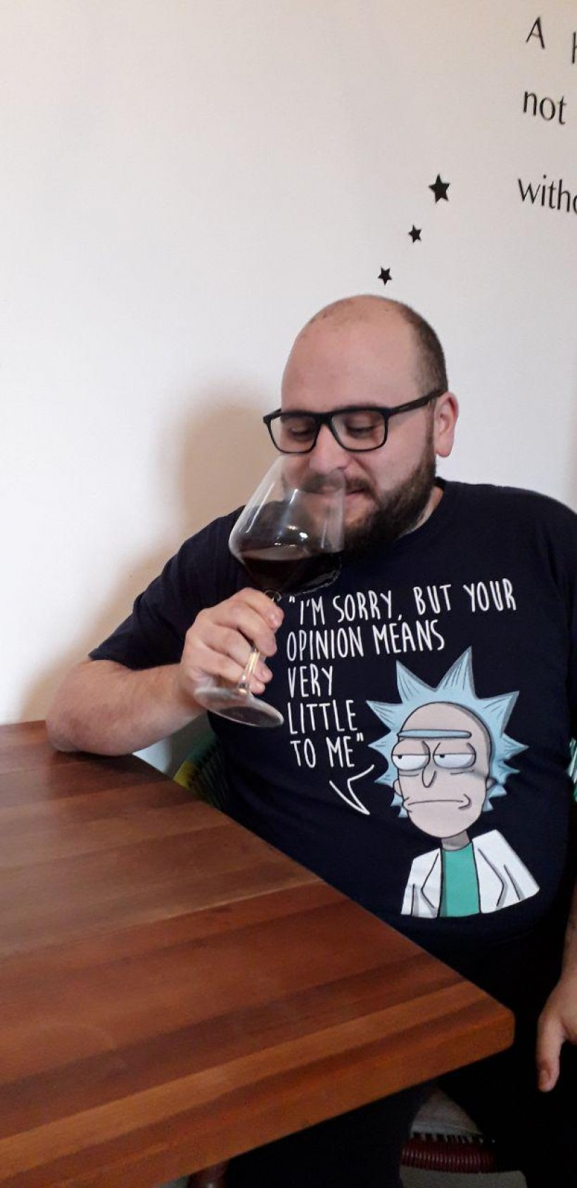 Rosengald vino