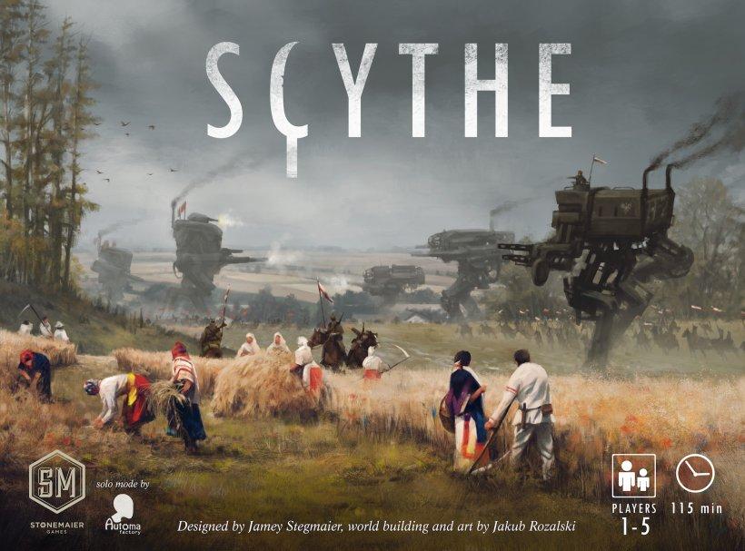 Copertina del gioco in scatola Scythe