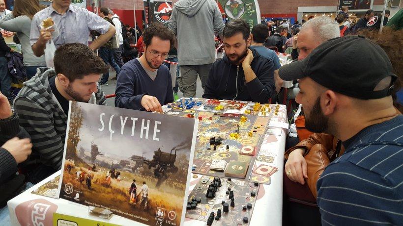 Scythe a Play, area Magnifico