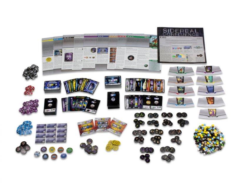 Sidereal Confluence: materiali di gioco