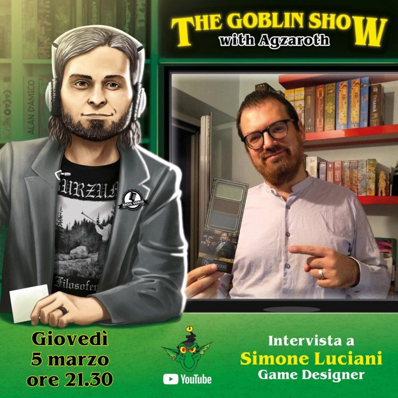 The Goblin Show: Simone Luciani