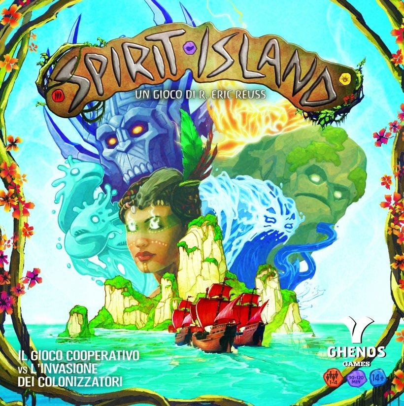 Spirit Island copertina