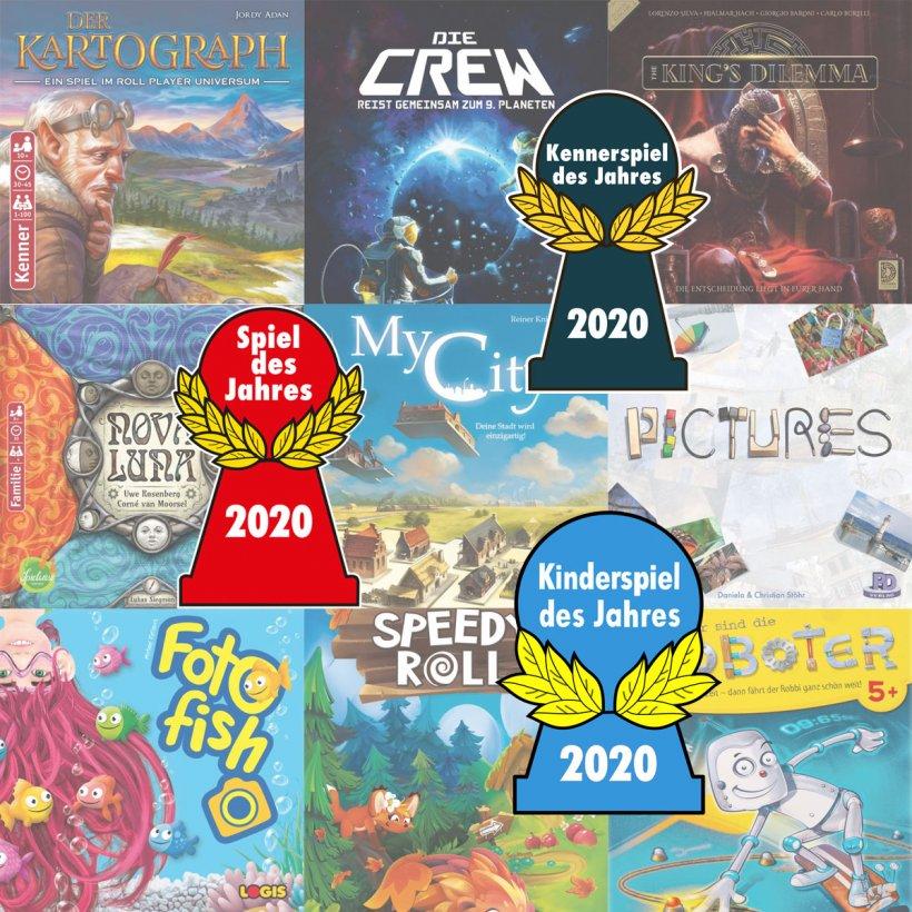 Spiel Des Jahres 2020 - Nomination