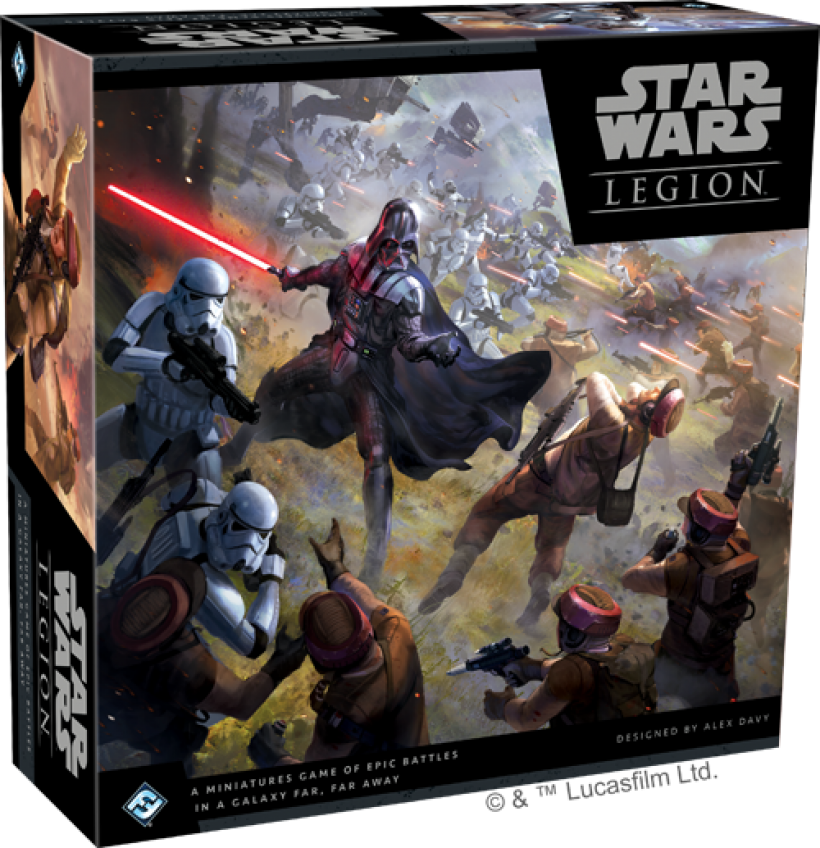 Star Wars Legion: scatola