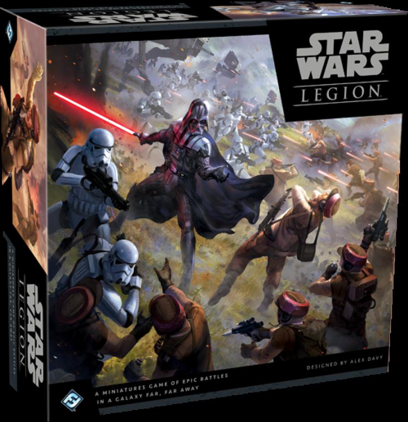 Star Wars Legion: scatola