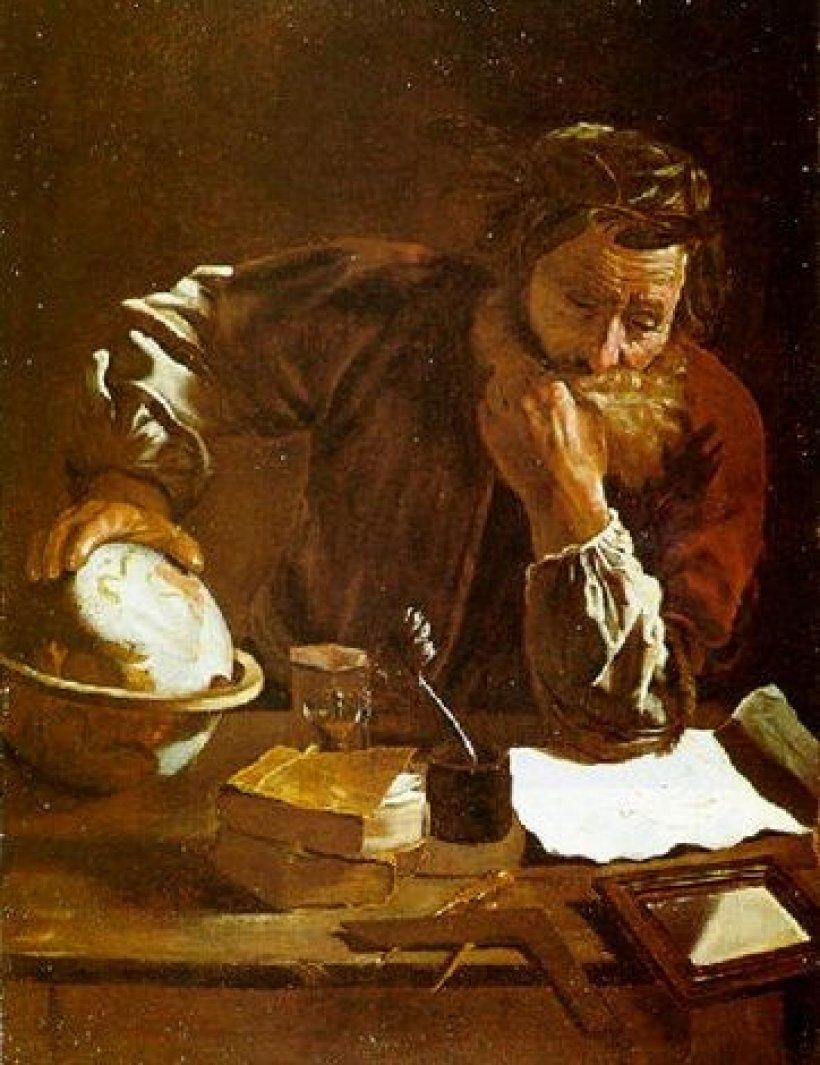 Lo studioso di astronomia, di Pier Francesco Mola