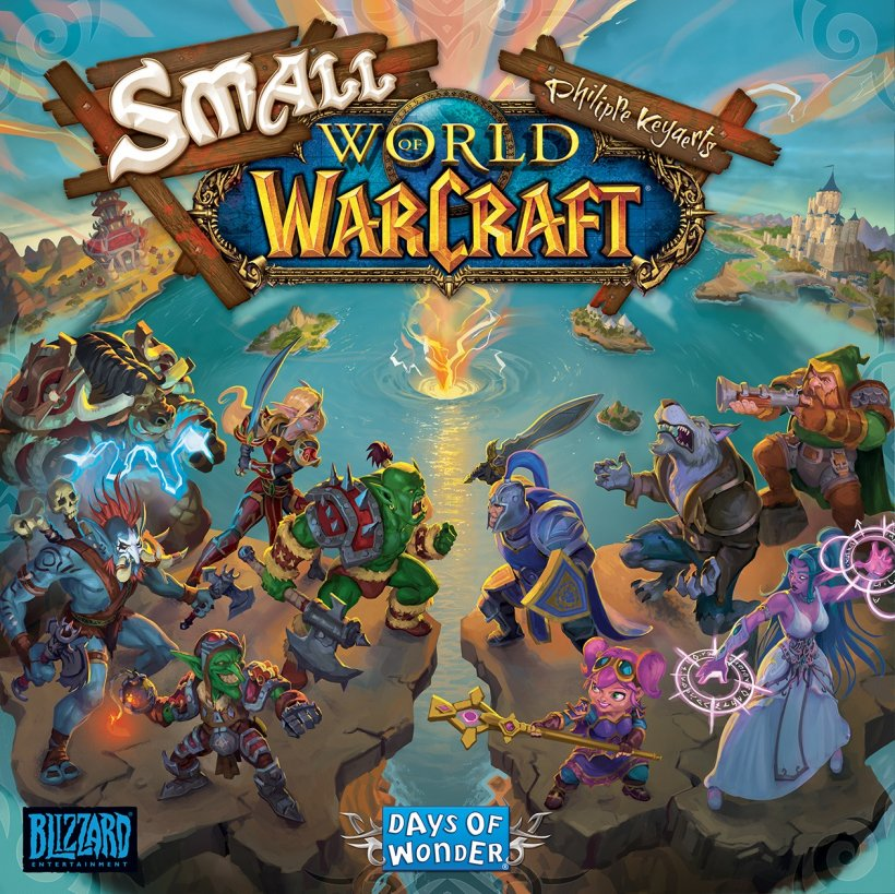 Small World of Warcraft: copertina