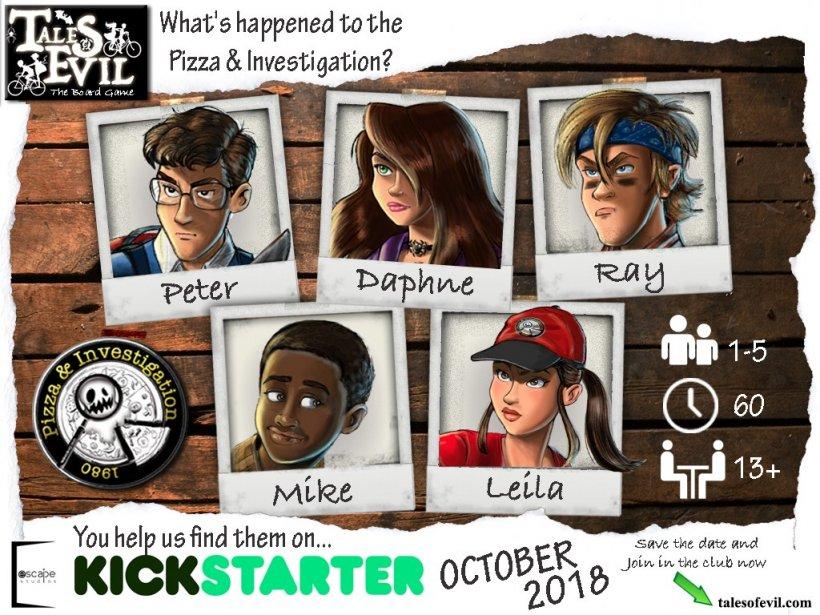Tales of Evil: futuro Kickstarter