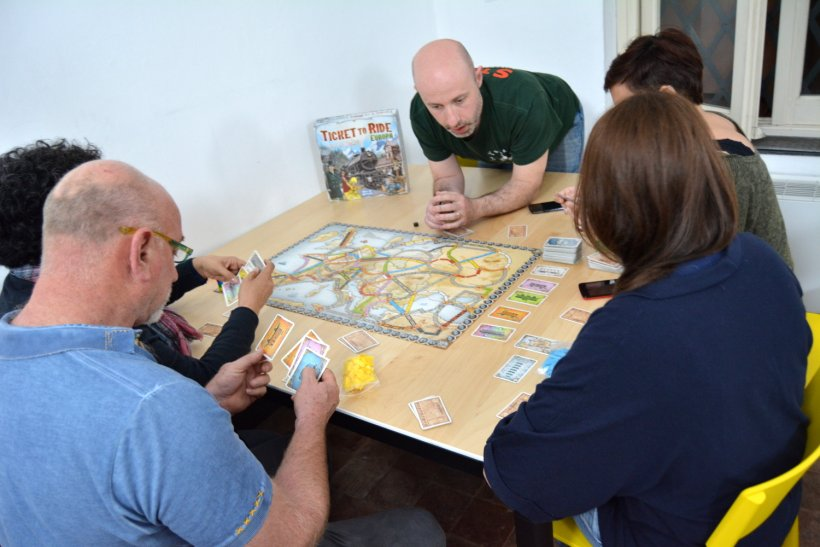 TdG Genova Ticket to ride