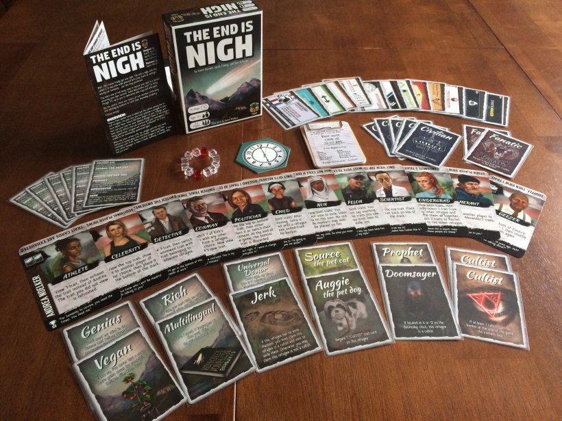The End is Nigh: carte Rifugiato e Tratti