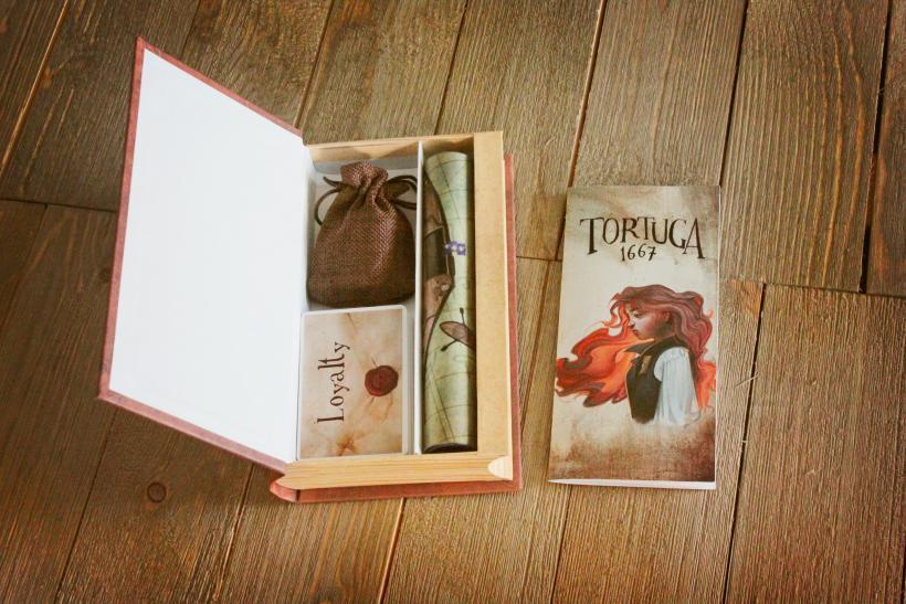 Tortuga1667: il contenuto