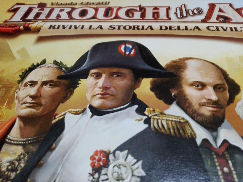 Cesare, Napoleone e Shakespeare (fronte scatola)