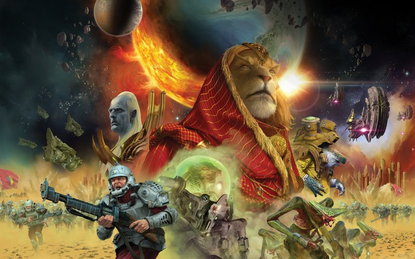 Twilight Imperium IV: copertina