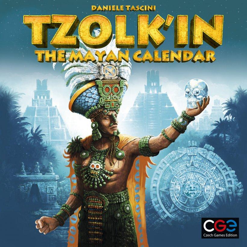 Copertina del gioco da tavolo Tzolk'in: il calendario Maya