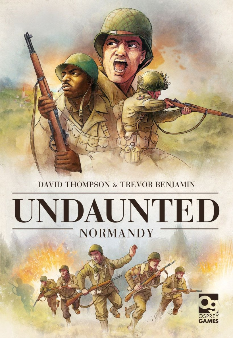 Copertina Undaunted: Normandy
