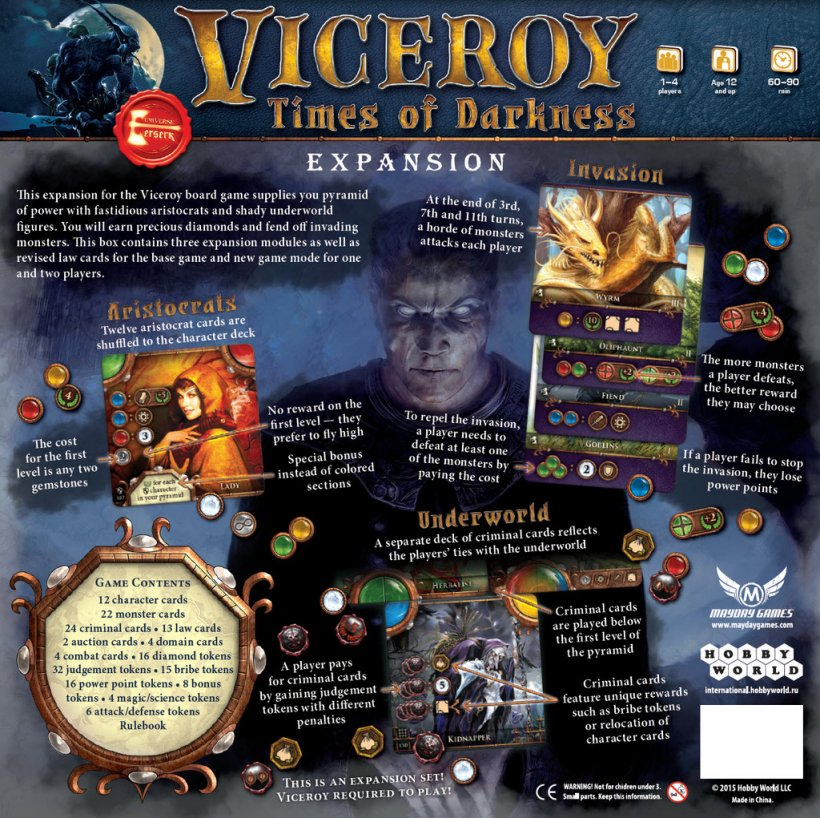 Viceroy Times of Darkness