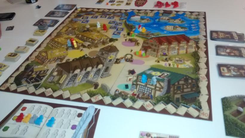 Village: durante una partita con tutte le espansioni